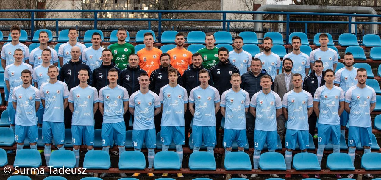 KP Błękitni Stargard - pierwsza drużyna - 2 liga