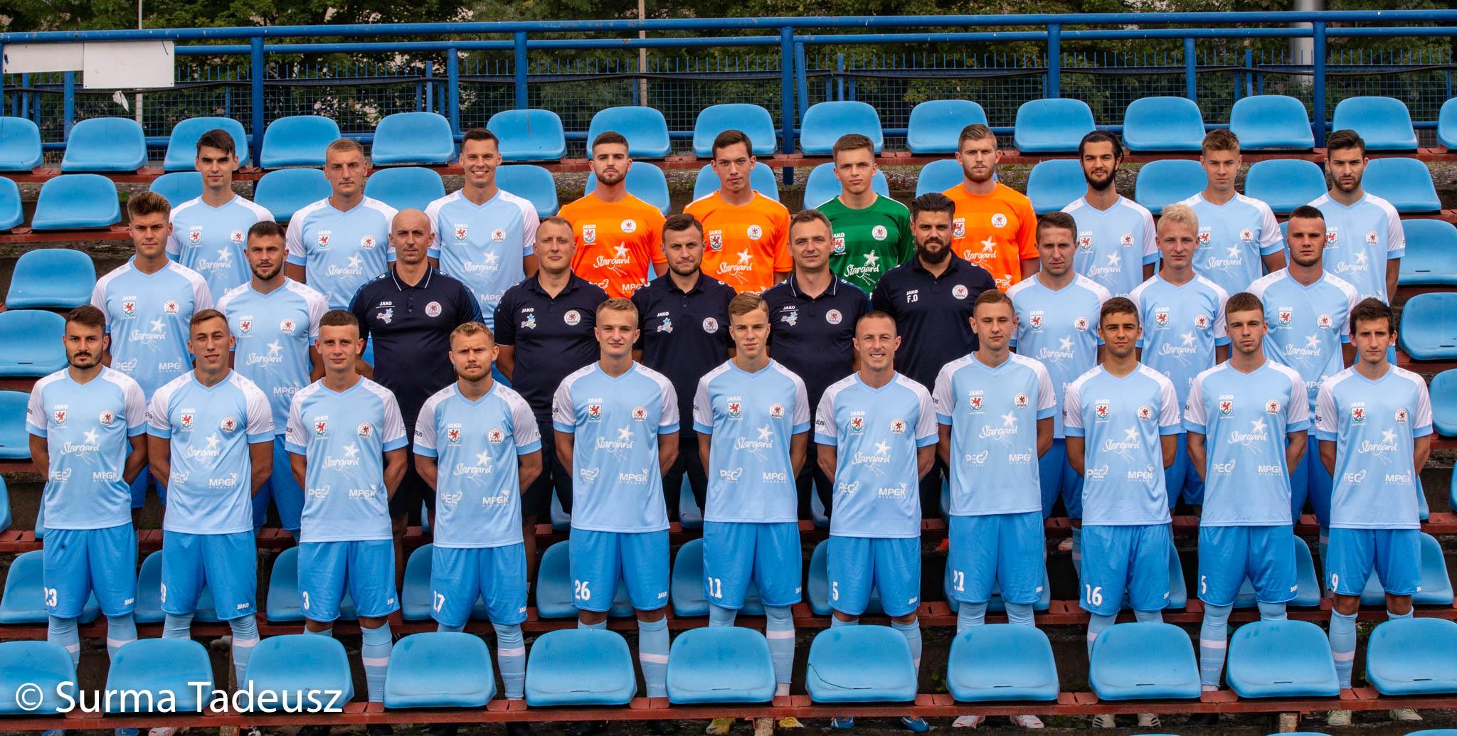 KP Błękitni Stargard - pierwsza drużyna - 3 liga