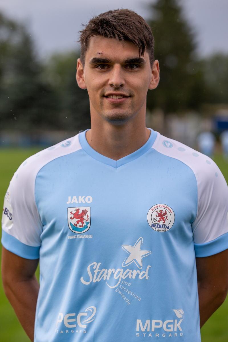Maciej Liśkiewicz - obrońca (Kapitan)